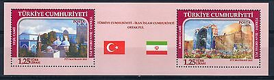 2015 joint issue iran turkey persia mosquie MNH**
