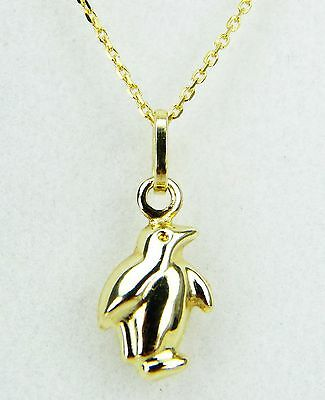 9ct Yellow Gold Small Coffee Bean Drink Hollow Bracelet Charm Pendant Gift Boxed
