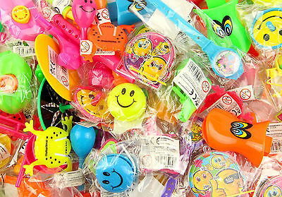 100 kids birthday party bag fillers.Ideal for loot bags 50 tattoos and 50 toys.