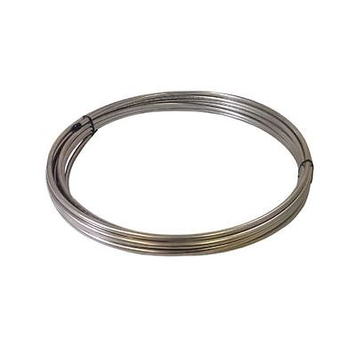 """1/8"""" OD x 50' Length x .020"""" Wall 304/304L Stainless Steel Tubing Coil"""