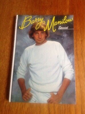 THE BARRY MANILOW SPECIAL : 1982 Annual-style hardback book,  price clipped