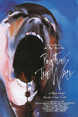PINK FLOYD THE WALL - ROGER WATERS POSTER - 24x36 CLASSIC ROCK MUSIC FILM 34122