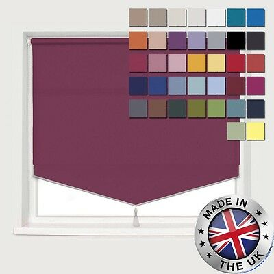 **Bargain** Made To Measure *Easyfit* 37 Cols! * Pyramid Edge Roller Blinds