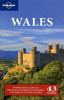 Lonely Planet Wales (Travel Guide), Atkinson Paperback Book The Cheap Fast Free