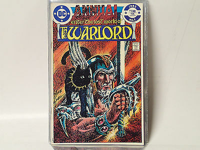 The WARLORD ANNUAL #1 DC Comics 1982 FN/VF Enter the Lost World