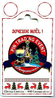 Disneyland Paris Christmas Pin-Doll Party - Pin Trading Event - Jumbo
