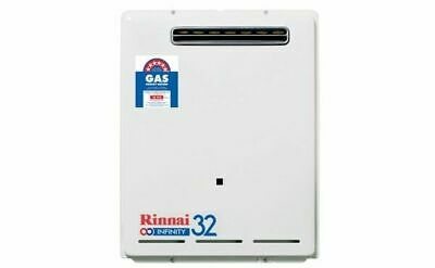 Rinnai Infinity 32 Continuous Flow Natural Gas Hot Water - 60°C - New