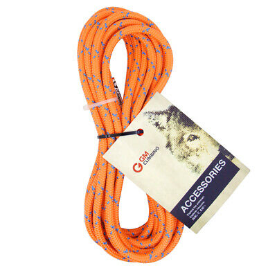20ft Bulk 19kN 8mm Double Braid Accessory Cord Rope for Prusik Climbing Arborist
