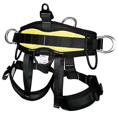 Safety Strong Rock Climbing Harness Body Seat Belt Bust Rappelling Equipment