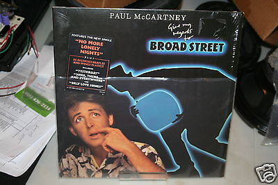 Paul McCartney Give My Regards to Broad Street.  Never opened or played