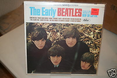 The Beatles The Early Beatles   Brand New Sealed  No Bar Code