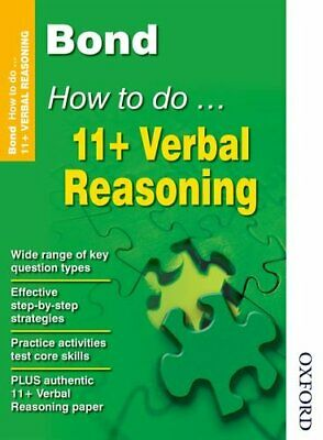 Bond How to do 11+ Verbal Reasoning New Edition by Primrose, Alison Paperback