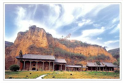 China C Postcard Rocky CAve Temple At Gongyi 013