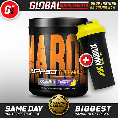 ANABOLIX NUTRITION 'RIPP3D' (60 Serves) WEIGHT LOSS RIPPED ENERGY THERMOGENIC