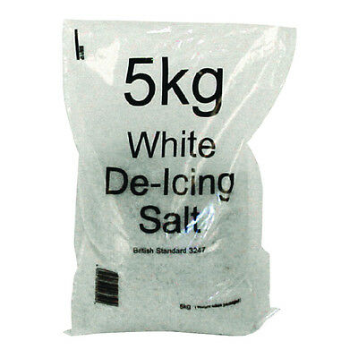 White Winter 5kg Bag De-Icing Salt (Pack of 40) 379757
