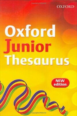 OXFORD JUNIOR THESAURUS by Dignen, Sheila Hardback Book The Cheap Fast Free Post