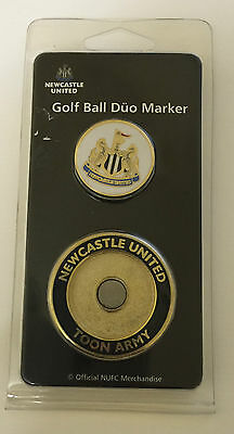 Newcastle Golf Ball Duo Marker Double Sided