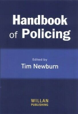 A Handbook of Policing Paperback Book The Cheap Fast Free Post