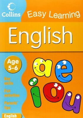 English: Age 5-6 (Collins Easy Learning Age... by Collins Easy Learnin Paperback