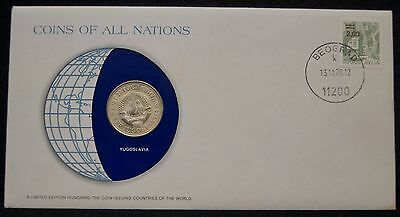 Yugoslavia Coins Of All Nations 1972 5 Dinara Coin Uncirculated