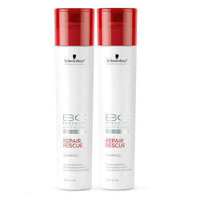 (€21,98/L)Schwarzkopf Professional BC Bonacure Repair Rescue Shampoo DUO 500 ml