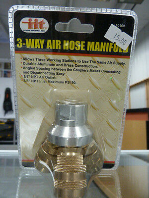 3 Way Air Hose Manifold - NEW