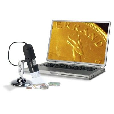 Lighthouse Usb Digital Microscope With Optional Stand For Collectibles