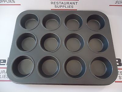 *NEW* Update MPNS-12 Non-Stick Carbon Steel 12 Cup Muffin Cupcake Pan FREE SHIP