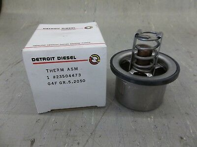Detroit Diesel 190 Deg Engine Coolant Thermostat #23504473