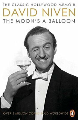 The Moon's a Balloon by David Niven Paperback Book The Cheap Fast Free Post