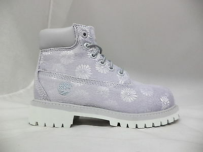 "Pre-School Timberland 6"" Classic Floral Boots-197Z"