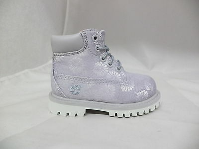 "Toddler's Timberland 6"" Classic Floral Boots-A1767"