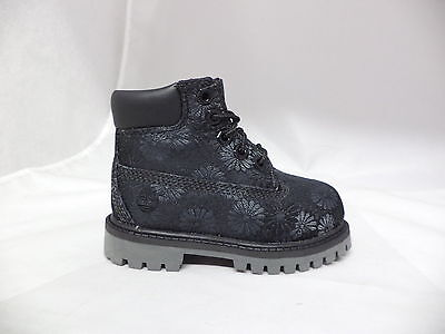 "Toddler's Timberland 6"" Classic Floral Boots-A1781"