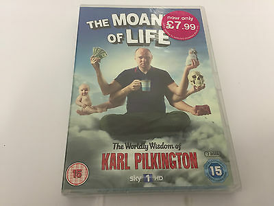 The Moaning Of Life - Series 1 [NEW DVD] SEALED