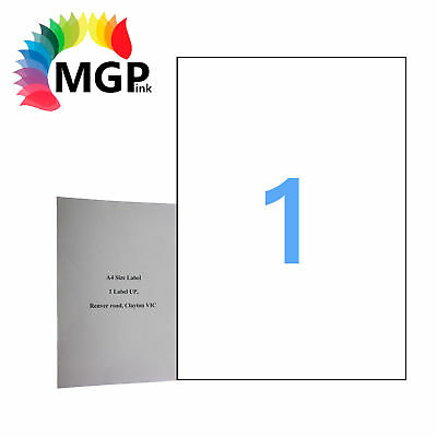300 Sheets 1 Label Per Page 300 Labels 210x297mm A4 Office Mailing Labels