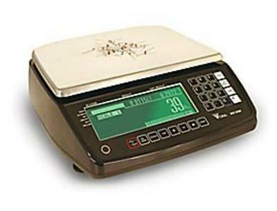RICE LAKE DIGI DC-530 Counting Scale 20 x0 0002 lb, Platter 13