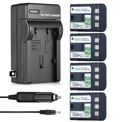 NB-2LH NB-2L Battery Charger for Canon Rebel XT XTi PowerShot G7 G9 HG10 S50