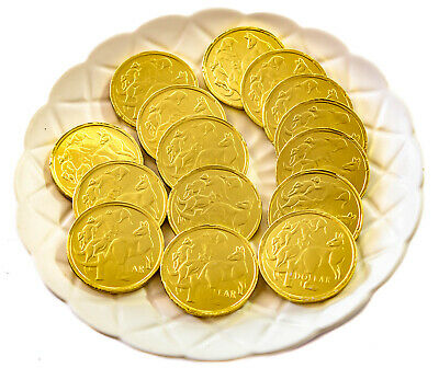 Gold Chocolate Coins Bags - 1Kg  -  Party, Wedding Favours