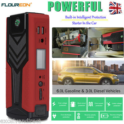 18000mAh 12V Car Jump Starter Pack Booster Battery Charger Power Bank