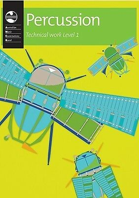 AMEB Percussion Series 1 NEW Technical Workbook: Level 1: Preliminary to Grade 4
