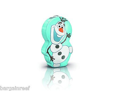 Philips Disney Frozen Night Torch Led New Childrens Lamp Olaf