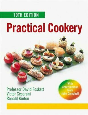 Practical Cookery, Foskett, David Hardback Book The Cheap Fast Free Post
