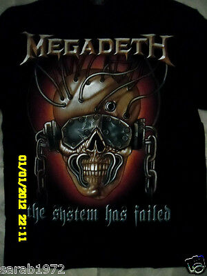 Megadeth - The System Has Jailed - T-Shirts