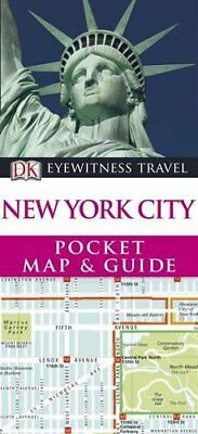 DK Eyewitness Pocket Map and Guide: New York City by DK Travel Paperback Book