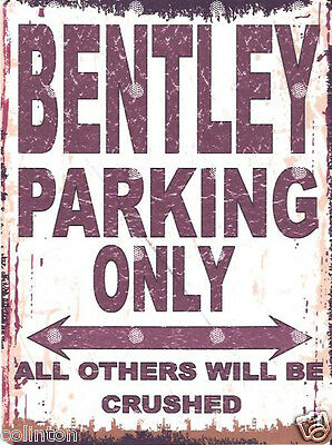 LANCIA PARKING METAL SIGN RETRO VINTAGESTYLE12x16in 30x40cm garage