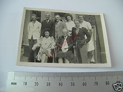 OLD Photo LOT3 1920-40s Group Of People Family ? Outside Vintage Fashion  006