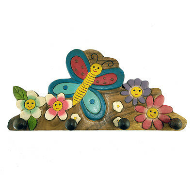 Childs/Childrens/Kids Wall Hanger - Butterfly