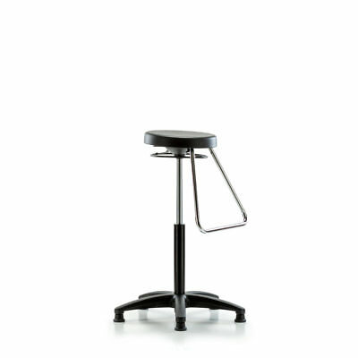 Perch Chairs & Stools Height Adjustable Stool with Fixed Foot Rest