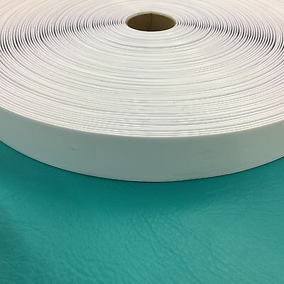 "2"" Vinyl Chair Strap Strapping Outdoor Patio Lawn Furniture Repair 20' White New"