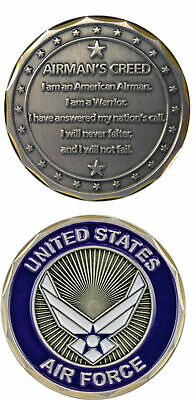 U.S. Air Force / Airman's Creed - Challenge Coin 2986